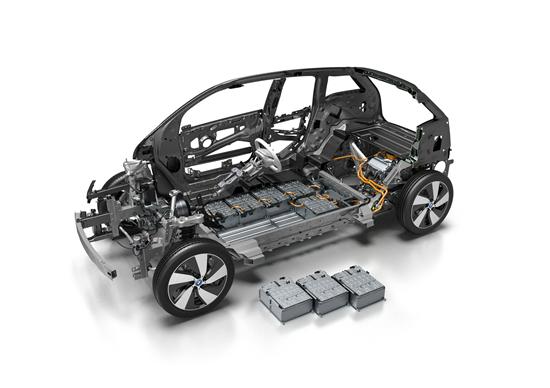 bmw i3创新的life-drive车身结构