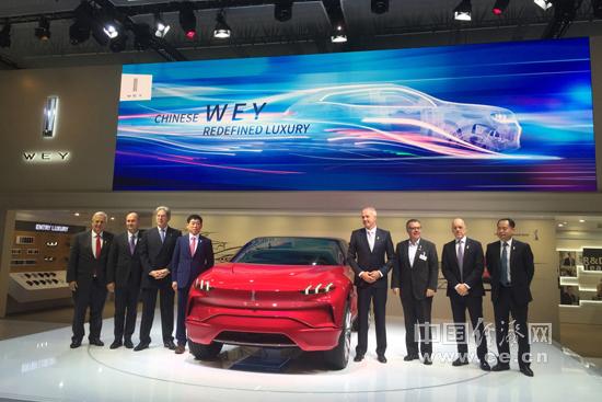 """中国品牌""""秀肌肉"""" WEY携6款车型亮相法兰克福车展"""