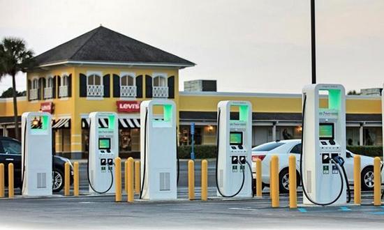 """为排放门""""赎罪""""?大众汽车在美国建公用充电站"""
