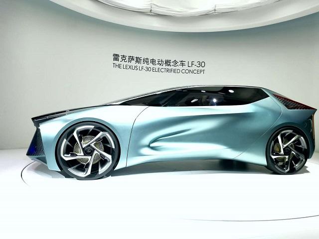 雷克萨斯纯电概念车LF-30在北京车展完成中国首秀