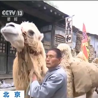 北京再现传统集市