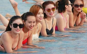 2016亚洲平面模特比基尼秀
