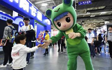 第13届中国国际动漫节在杭州举办 萌翻大小朋友