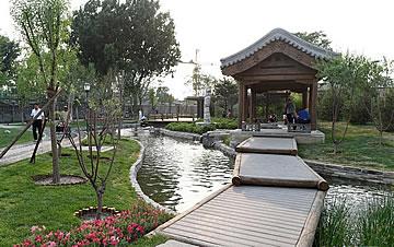 """北京:小桥流水""""现""""前门"""