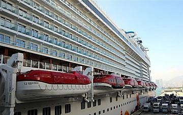 探访首艘在香港命名的最新豪华国际邮轮