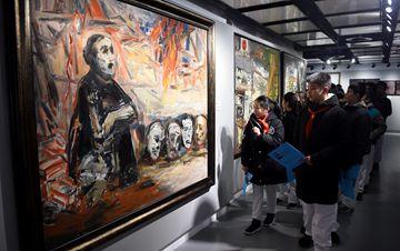 南京大屠杀遇难同胞80周年祭艺术作品特展