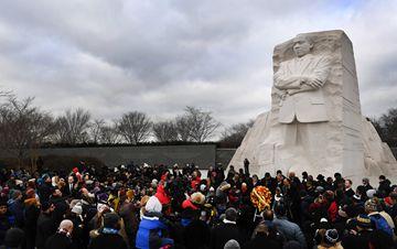 美国举办活动纪念马丁・路德・金