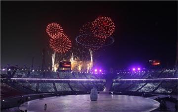 第23届冬奥会在韩国平昌开幕
