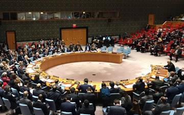 安理会举行紧急会议讨论美英法对叙动武问题