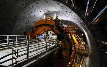 京沈高铁望京隧道成功穿越特级风险源