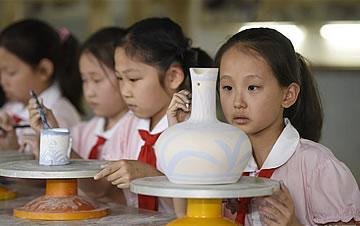 陶艺进校园