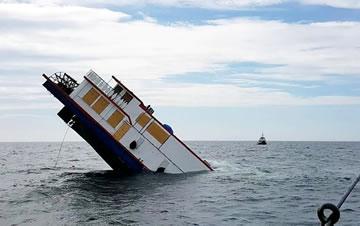 百年老船翻新出售卖了200万 首航沉入大海
