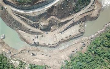 中巴经济走廊首个水电投资项目进入全面施工阶段