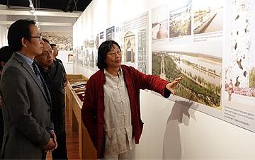 朱仁民生态修复艺术馆在硅谷揭幕