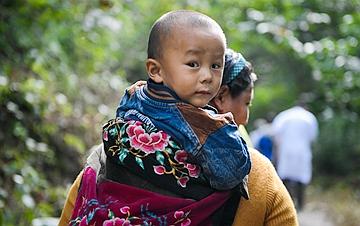 西藏墨脱:安置点生活特写