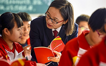 河北阜城:宪法宣讲进校园