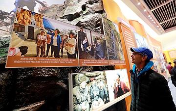 庆祝改革开放40周年大型展览累计参观人数突破百万