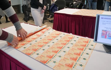 1000港元新钞票将于12日正式流通