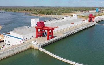中柬能源合作典范-柬埔寨桑河二级水电站竣工投产