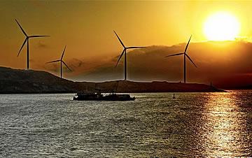海岛风电场
