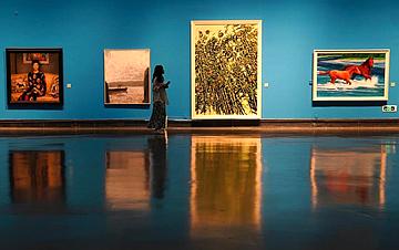 """""""江南如画——中国油画作品展(2019)""""在苏州开展"""