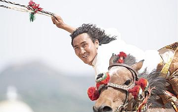 内蒙古:马上表演赛况
