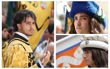 锡耶纳赛马节举行古装游行