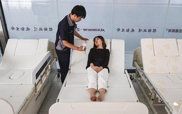 河北景县:智能医疗器械远销海外