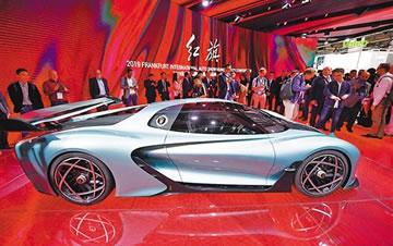 中国车企亮相法兰克福车展