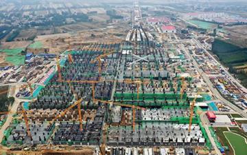 京雄城际雄安站地下主体结构基本完工