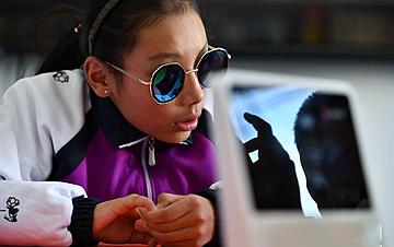 AI助盲 造福雪域高原视障儿童