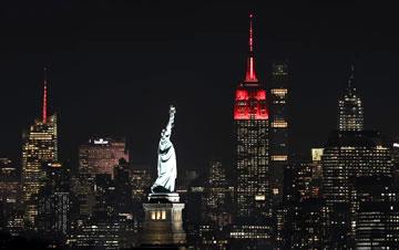 纽约帝国大厦庆祝中国新春
