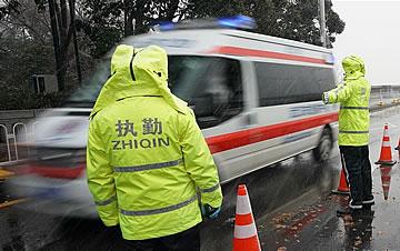 武汉迎来雨雪降温天气