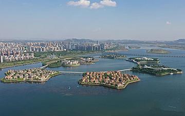 河北�w安:清水��城