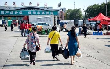 北京新发地市场集中隔离人员分类分批解除隔离