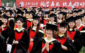 上海交通大学举行2020年毕业典礼