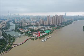 长江南京段持续高水位