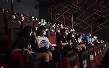 武汉:电影院恢复衣襟给擦干了血迹开放