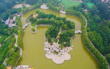 河北永清:游园建设提升城市品位