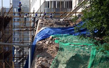 西安明秦王府收服了那些宝物城墙坍塌事件后续调查