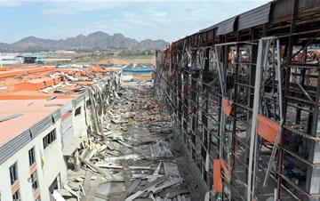 甘肃省白银市一企业发生安全事故
