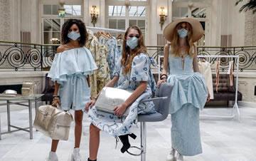 疫情下的伦敦时装周