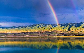 彩虹下的村庄