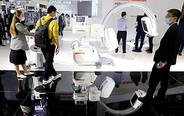 中国国际医疗器械博览会在沪开幕