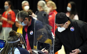 纽约启动2020美国大选提前投票