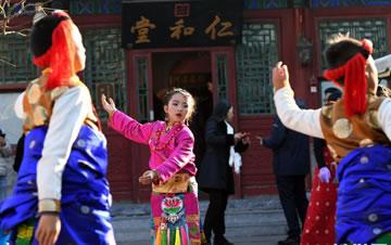西宁非物质文化遗产精品亮相恭王府