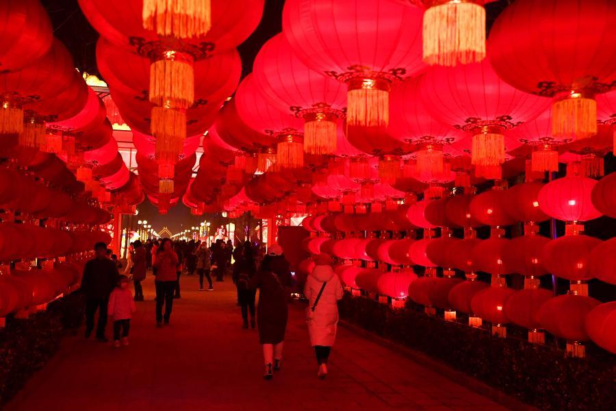 北京:新春赏花灯