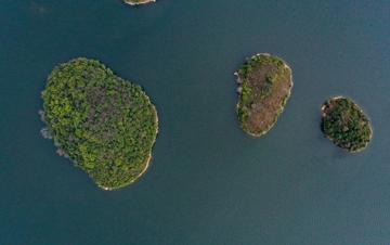 阿哈湖:春天的颜色
