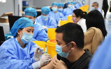 重�c江北建立新冠疫苗方�接�N�c