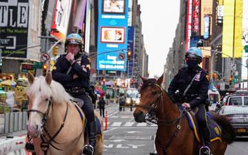 纽约时报广场发生枪击事件